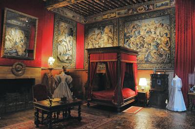 Château de Brissac - Chambre Louis XIII