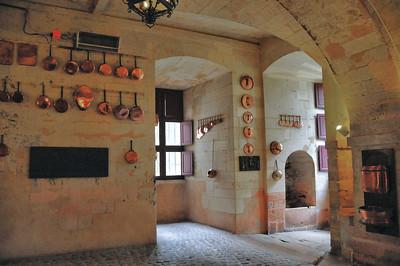 Château de Brissac - Cuisines