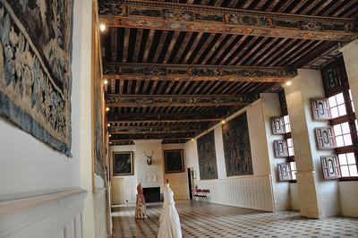 Château de Brissac - Salle des Gardes