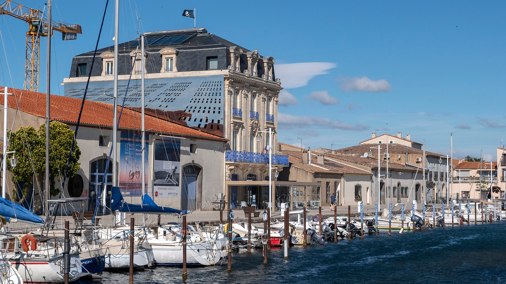 The port of Marseillan in the South of France