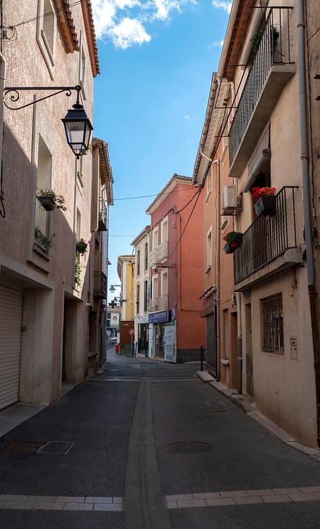 Marseillan town in France