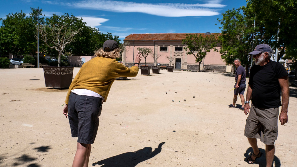 Petanque - French boules game
