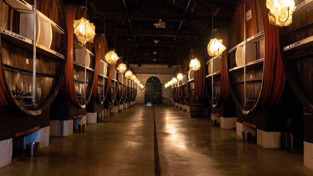 Maison Noilly Prat giant barrels