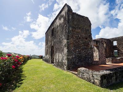 Le château Dubuc, Caravelle Peninsula