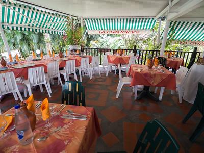 Restaurant La Chaudière, Morne Rouge