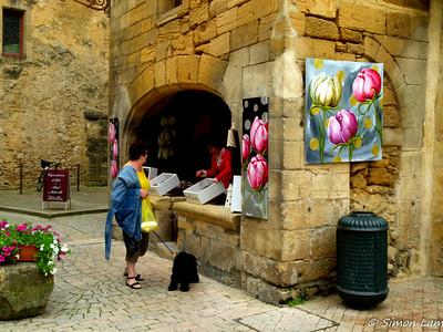 Medieval town Sarlat, France