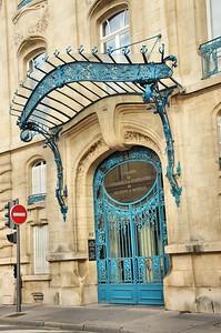 Nancy - 40 rue Henri Poincaré - Chambre de Commerce et d'industrie (Émile Toussaint et Louis Marchal, ferronneries de Louis Majorelle - 1908)