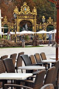 Nancy - Grilles de la place Stanislas - Fontaine d'Amphitrite