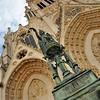 Nancy - Place Saint-Epvre - Basilique Saint-Epvre