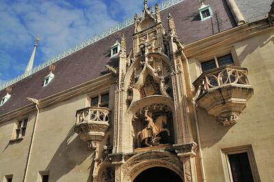 Nancy - Grande Rue - Palais ducal