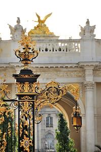 Nancy - Place de la Carrière avec l'arc Héré
