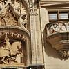 Nancy - Grande Rue - Palais ducal - Statue équestre d'Antoine, fils du duc René II