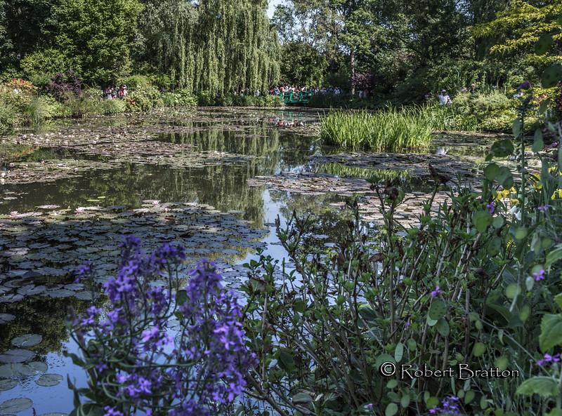 Lake at Monet's Garden