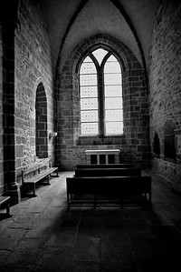 Small Chapel inside the Abbey
