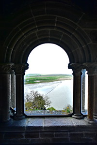 View of the Mud Flats from the Top