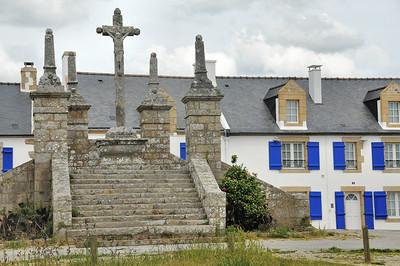 Ile de Saint-Cado (Sant Kado) - Le calvaire