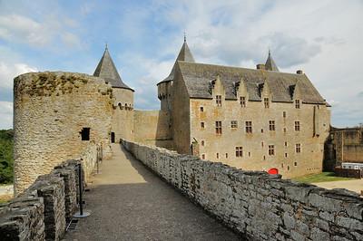 Château de Suscinio (Kastell Susinioù) - Chemin de ronde