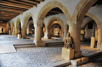 Metz - Musée de la Cour d'Or - Sous le grenier de Chèvremont