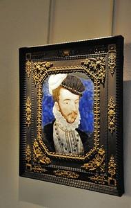 Metz - Musée de la Cour d'Or - Portrait d'Henri III (Bernard Limosin - vers 1575)