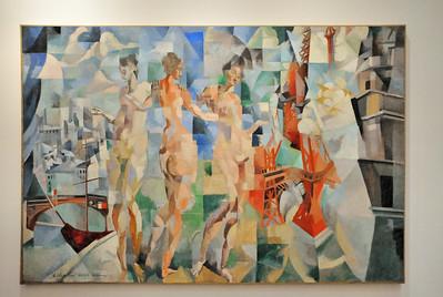La ville de Paris (Robert Delaunay - 1910-1912)