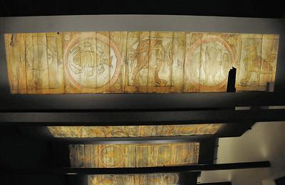 Metz - Musée de la Cour d'Or - Plafonds au bestiaire