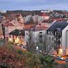 Metz - Rue des Tanneurs vue depuis la Colline Sainte-Croix