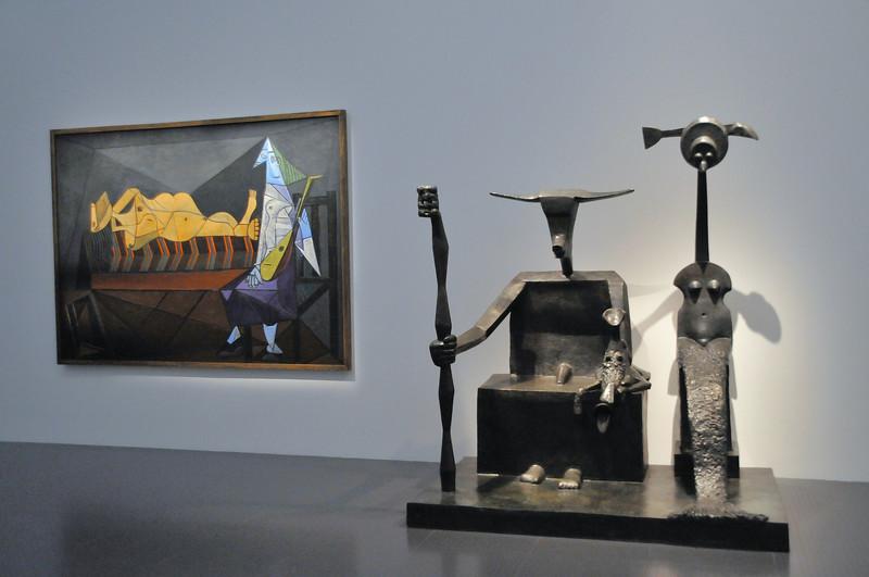 L'Aubade (Pablo Picasso - 1942) - Capricorne (Max Ernst - 1948-1964)
