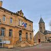 Scy-Chazelles - Mairie et église Saint-Rémi
