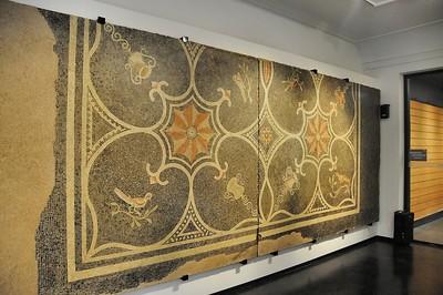 Metz - Musée de la Cour d'Or - Mosaïque romaine du 2e siècle