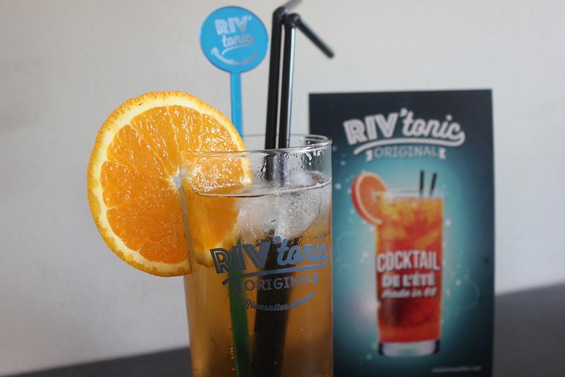 Riv'tonic cocktail rivesaltes