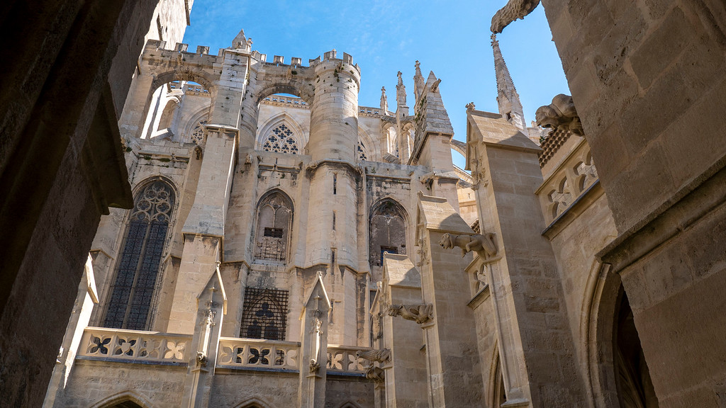 Saint-Just and Saint-Pasteur Narbonne Cathedral in Narbonne France