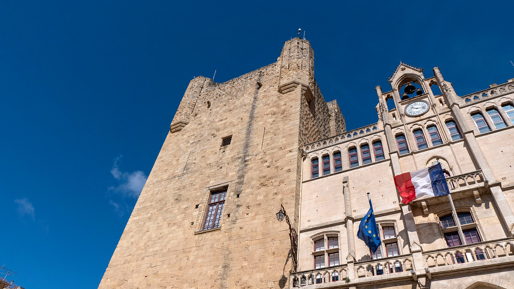 Archbishops' Palace in Narbonne France