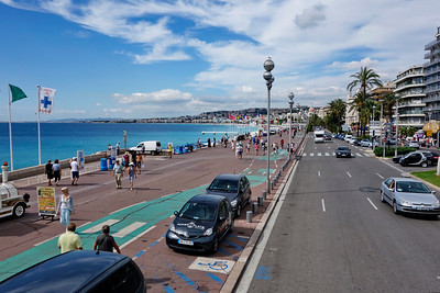"""N"" is for Nice and the Promenade des Anglaise"