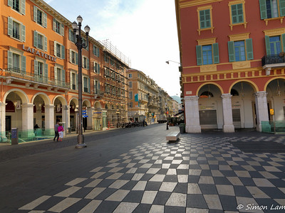 Nice in the morning, France