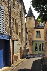 Nevers - Rue de la Parcheminerie - Echauguette du 15e siècle