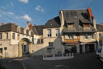 Nevers - Rue de Nièvre - Hôtel des Bordes