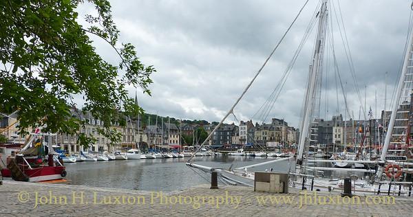 Honfleur - Normandy - France - June 07, 2012