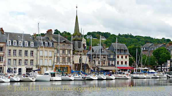 Honfleur - Normandy - France - June 07, 2012