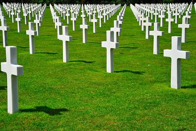 American Cemetery, Omaha Beach, Normandy, France