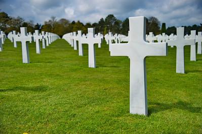 American Cemetery Omaha Beach, Normandy, France