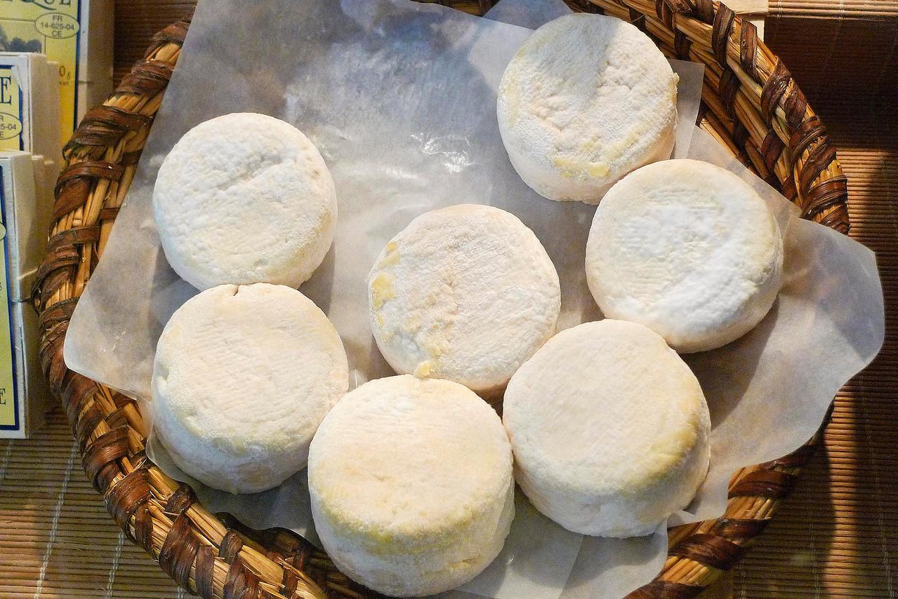 Camembert cheese farm