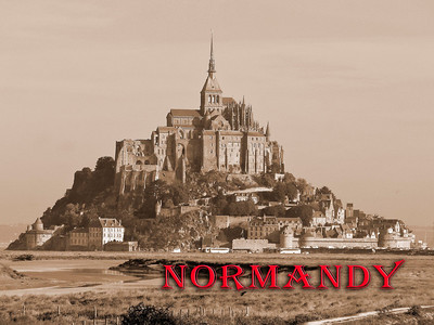 Mont St. Michel in Normandy