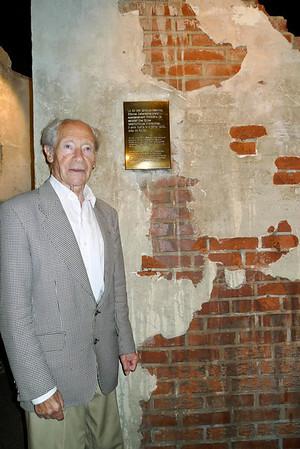 Andre Heintz (French Freedom Fighter) in Memorial de Caen