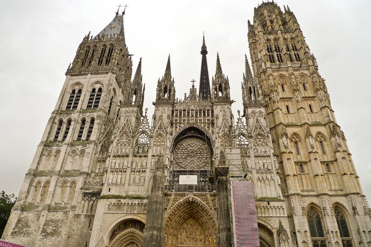 Notre Dame Cathedral in Rouen