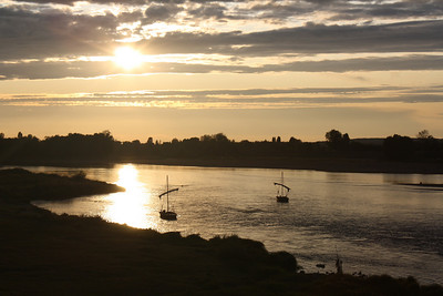 Sunset in Amboise, Loire Valley