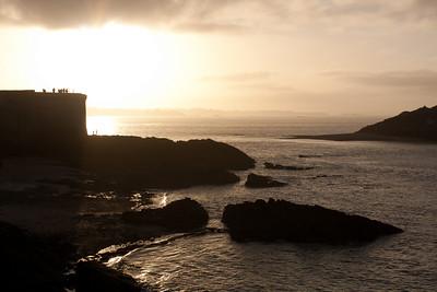 Saint-Malo sunset, Brittany
