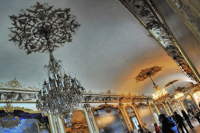 Château de Chantilly - Grands appartements - Galerie des Batailles