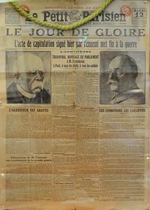 Clairière de l'Armistice - Journal du 12 novembre 1918