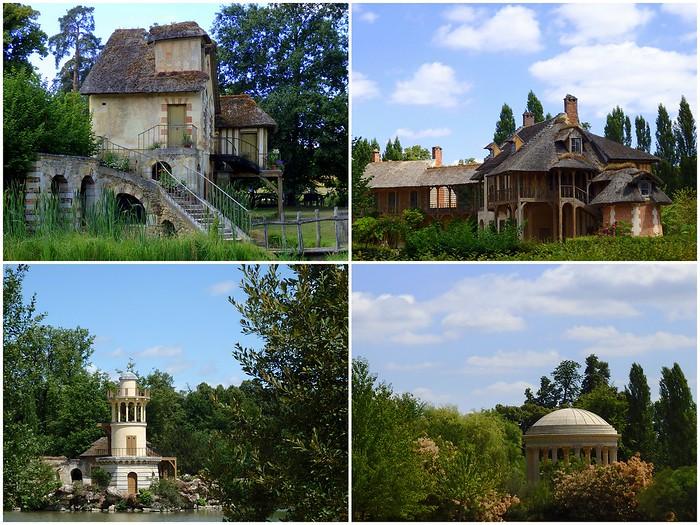 Marie Antoinette's village in Versailles