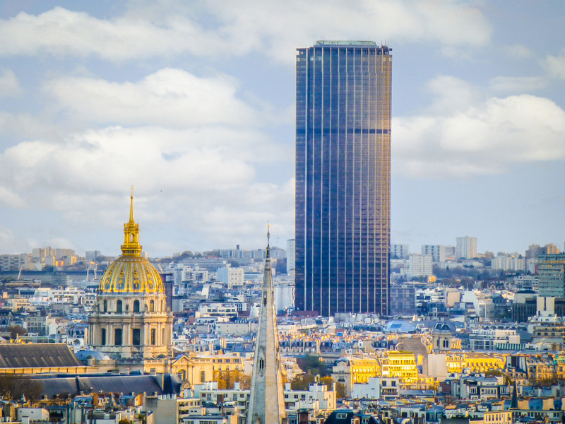 Montparnasse Tower from Eiffel Tower